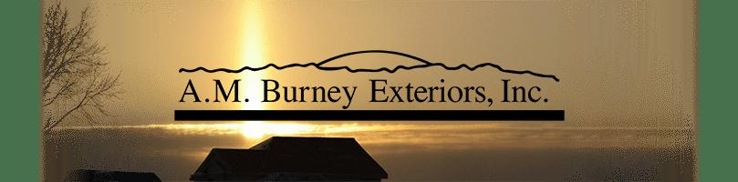 A.M. Burney Exteriors Logo